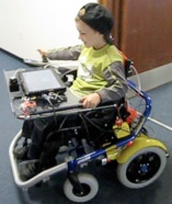 kid in wheelchair